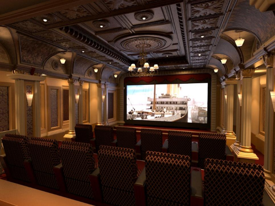 Amazing Home Theater Movie Palace