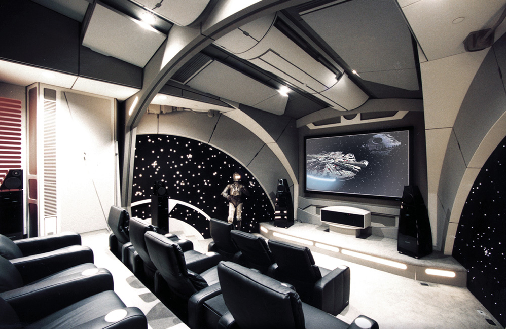 amazing home theaters death star
