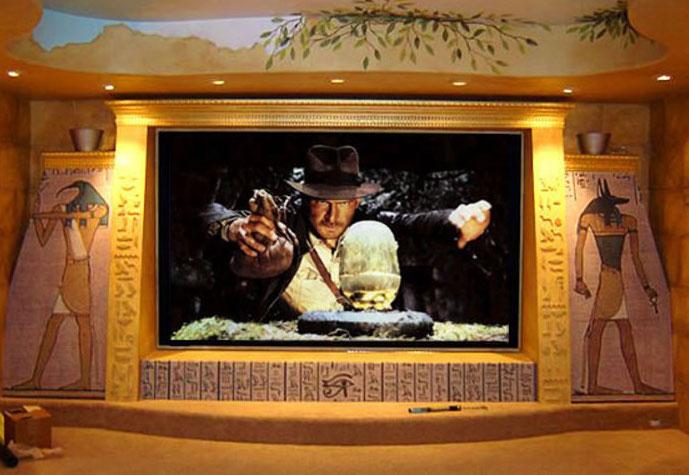 amazing home theaters indiana jones