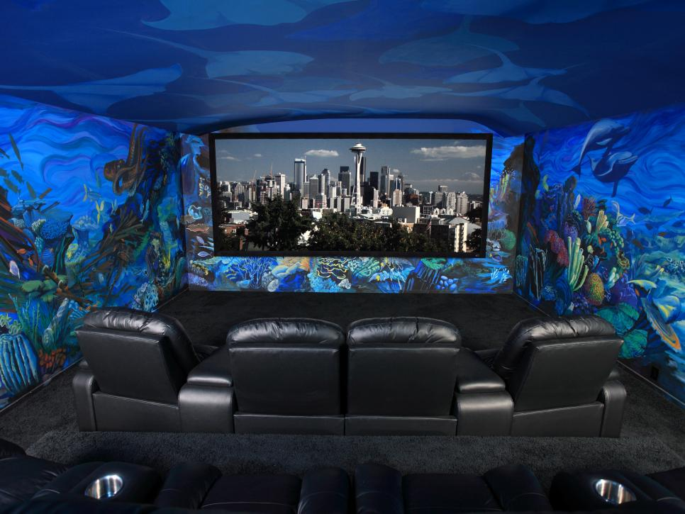Amazing Home Theaters Under The Sea