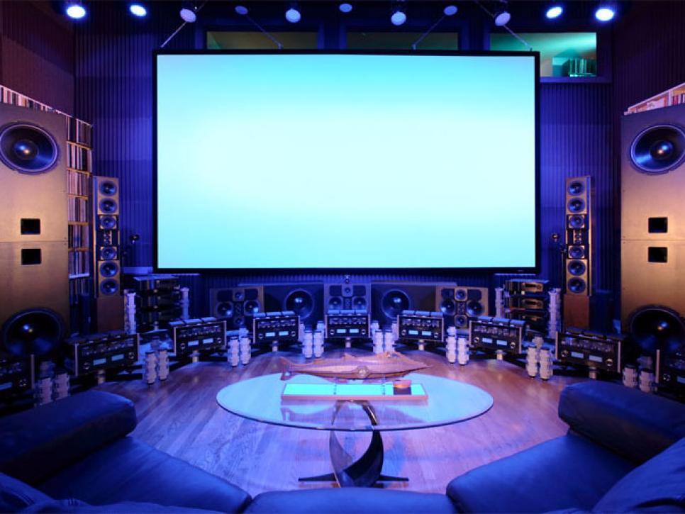 Amazing Home Theater Six Million Dollar