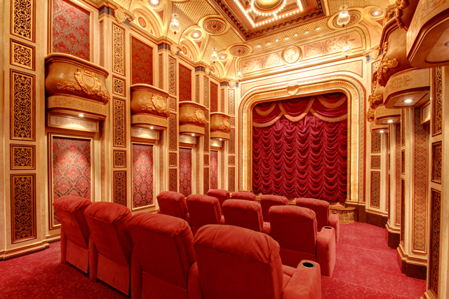 amazing home theaters the village
