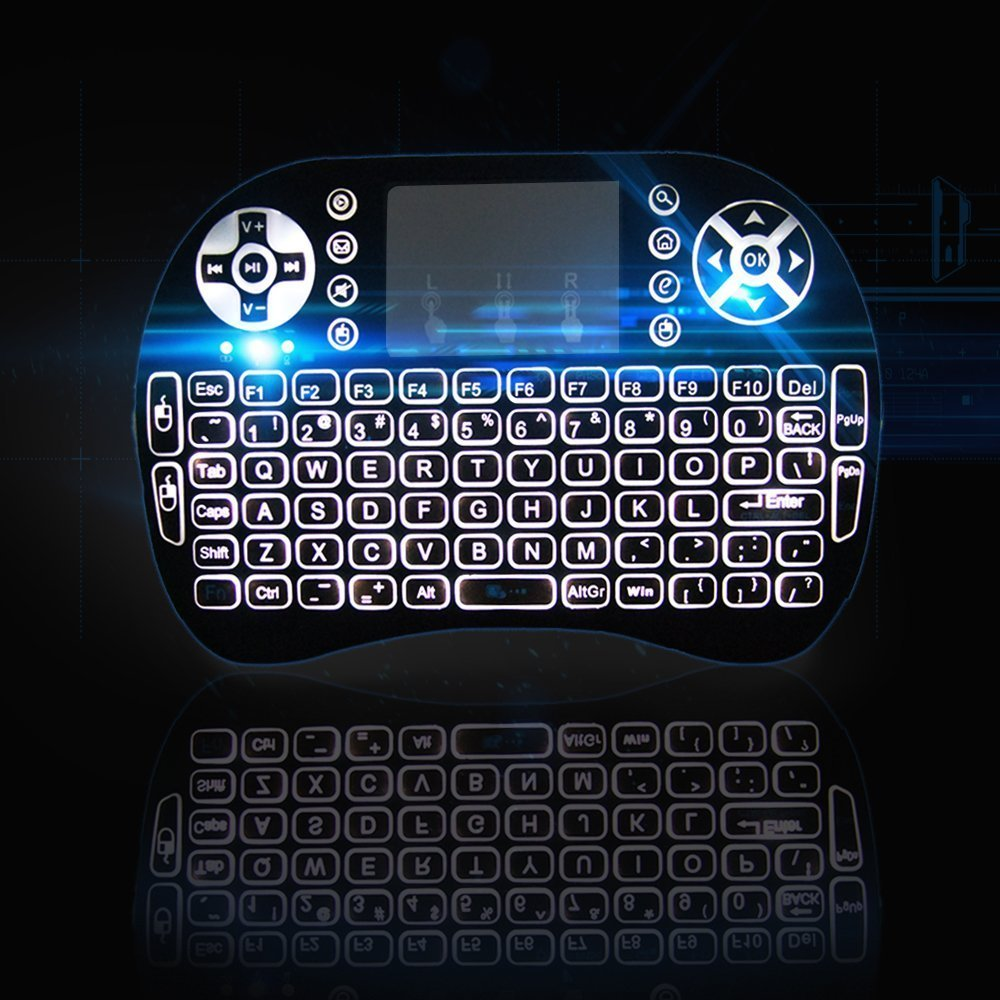 easytone-updated-version-2016-backlight-i8-2-4g-mini-wireless-qwerty-keyboard-with-touchpad-mouse-combo-budget-universal-standard-remotes-for-home-theaters