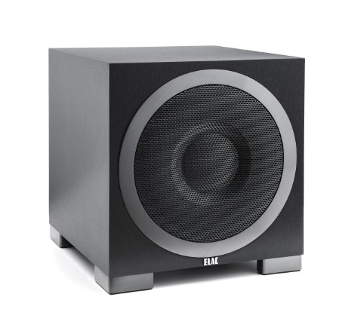 elac-s10eq-debut-series-400-watt-powered-subwoofer-by-andrew-jones-with-autoeq-home-theater-subwoofers-under-200