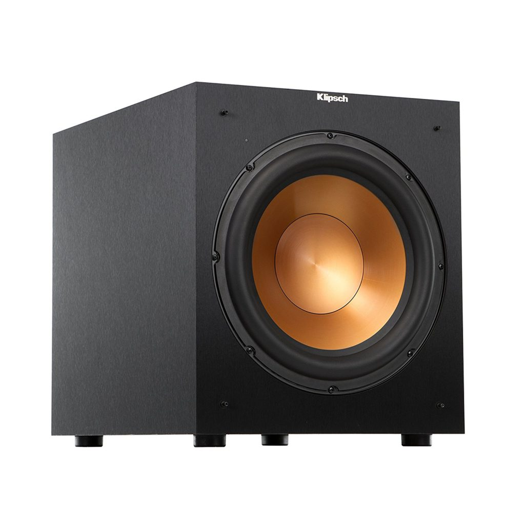 klipsch-r-12sw-12-inch-front-firing-400w-max-subwoofer-brushed-black-vinyl-home-theater-subwoofers-under-200
