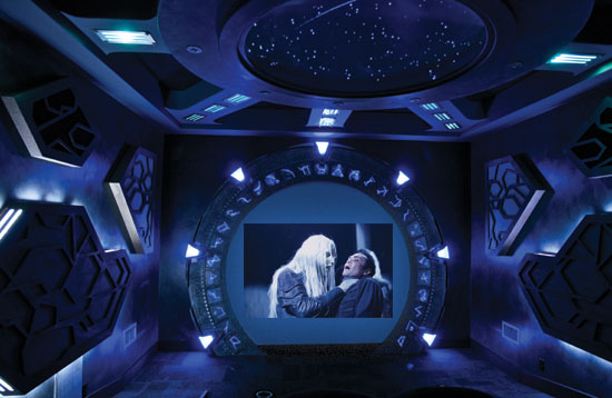 amazing home theaters stargate