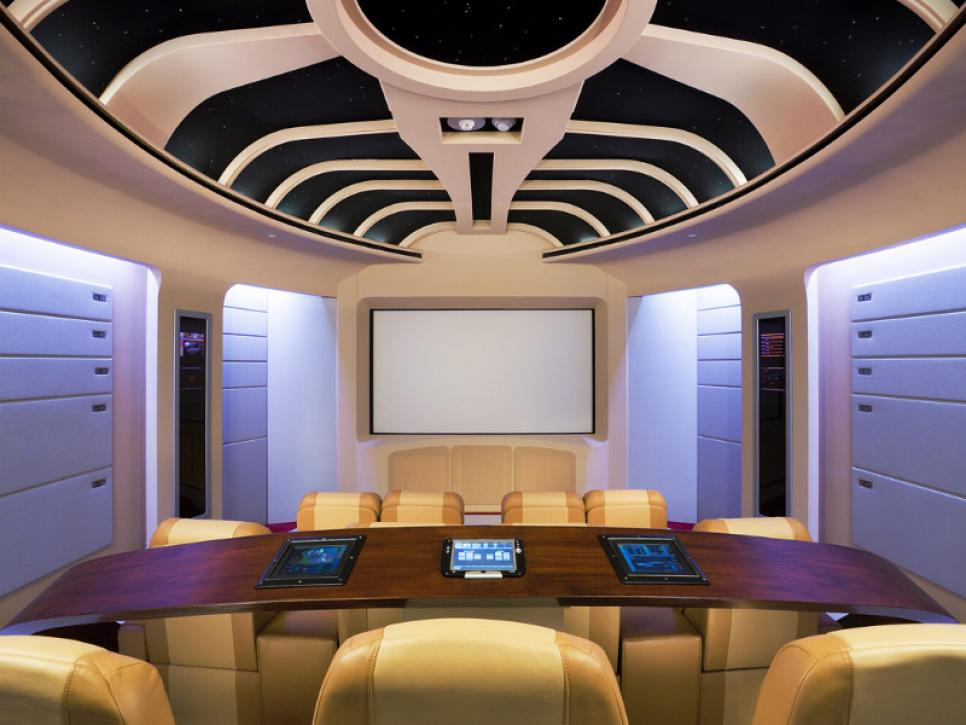 Amazing Home Theaters Star Trek