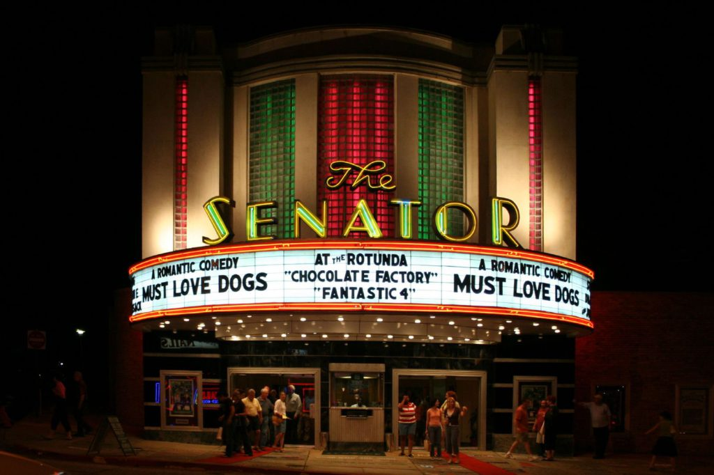 the senator theatre majestic theaters