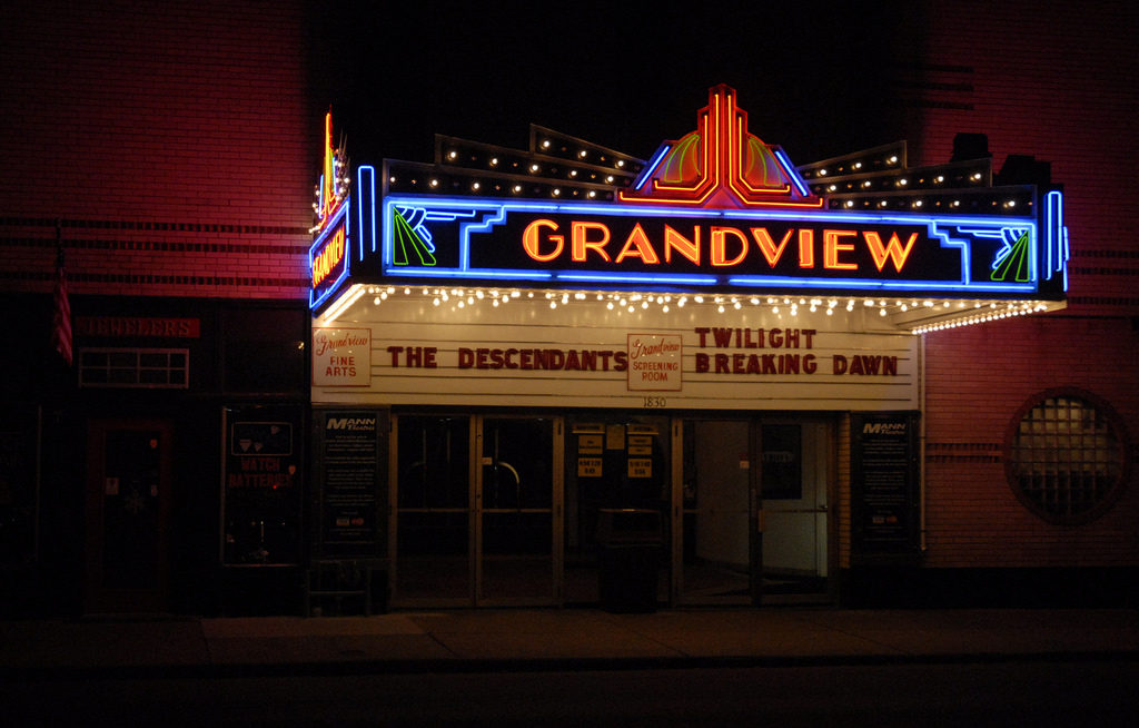 Grandview majestic theaters