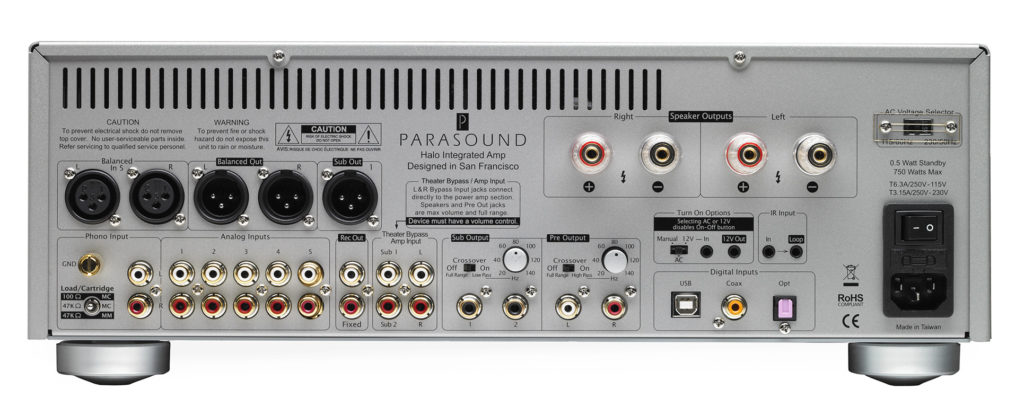 Parasound Halo 2 Integrated Amp Silver