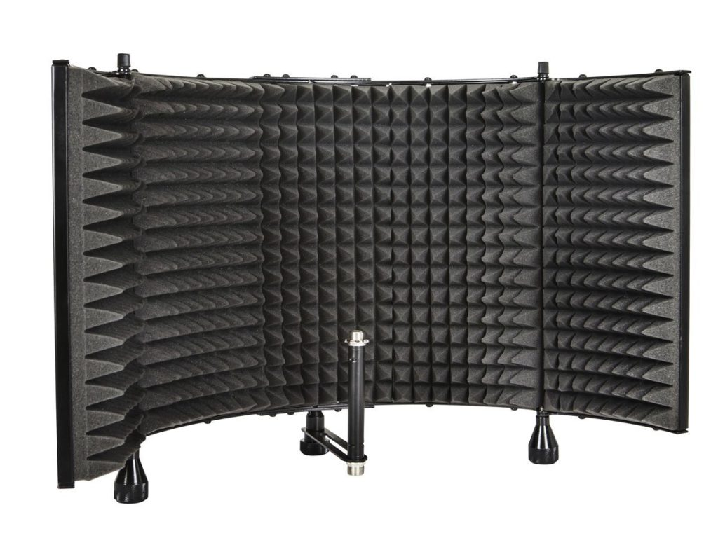 monoprice-602650-microphone-isolation-shield-cheap-gifts-for-audiophiles
