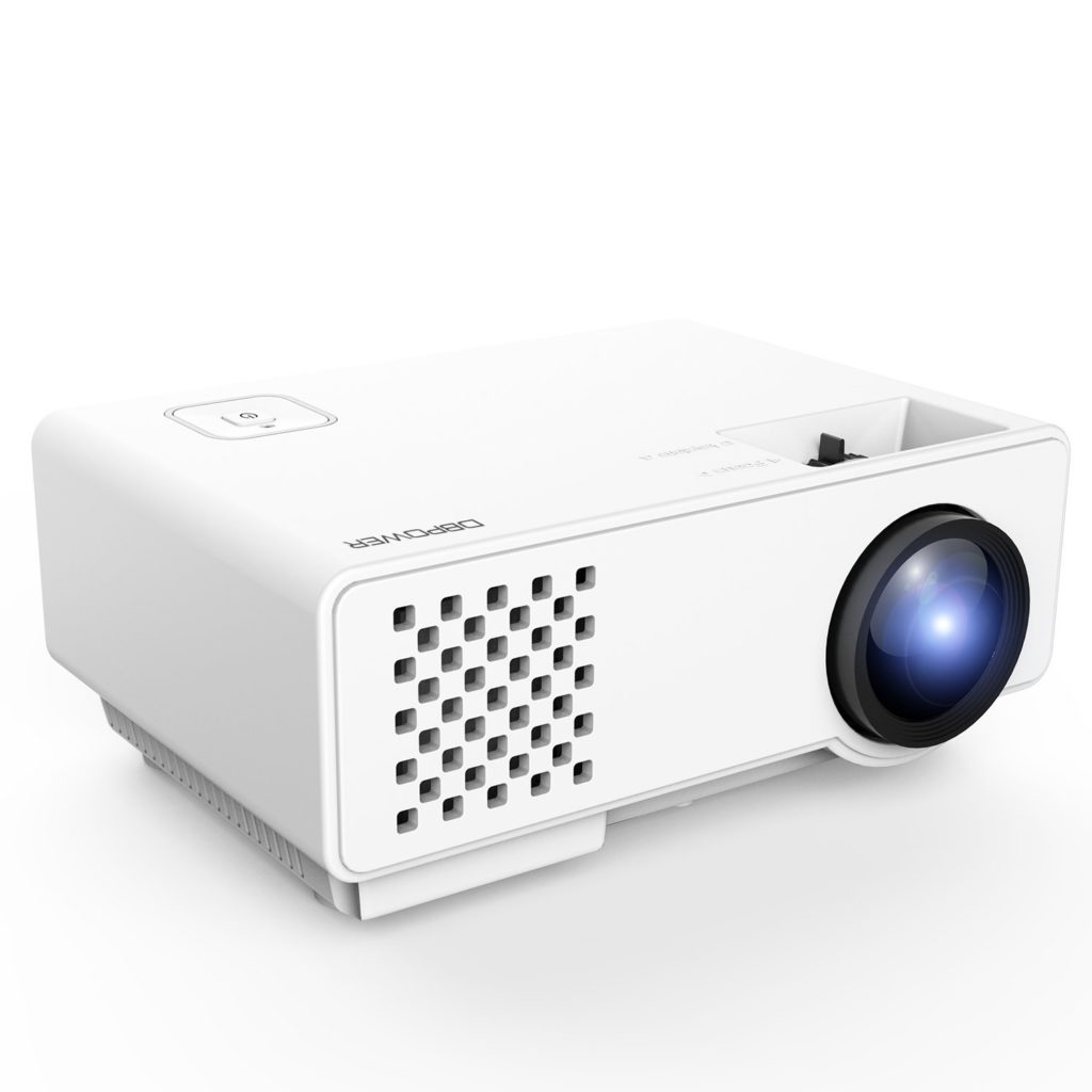 dbpower-rd-810-1200-lumens-led-portable-projector-cheap-gifts-for-home-theater-enthusiasts