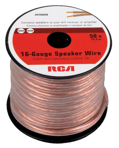 rca-ah1650sr-50-feet-16-gauge-speaker-wire-best-budget-speaker-cable