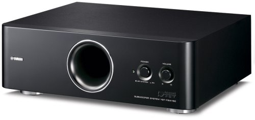Yamaha YST-FSW150 B 130W Advanced YST II Down-Firing Active Subwoofers Under $200
