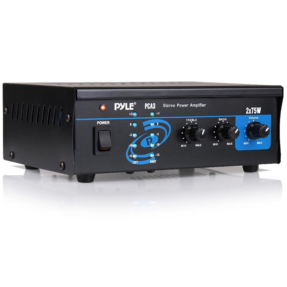Pyle Home Audio Power Budget Speaker Amps (2-channel)