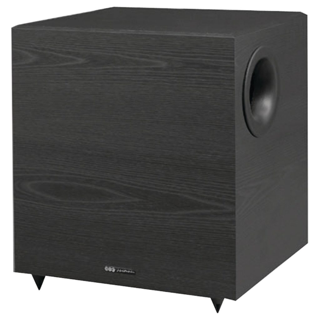 BIC America V-1220 12-Inch 430-Watt Down-Firing Powered Subwoofers Under $200
