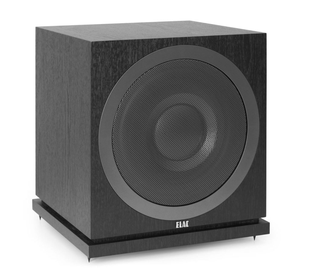 ELAC Debut 2.0 SUB3010 400 Watt Powered Subwoofers Under $500