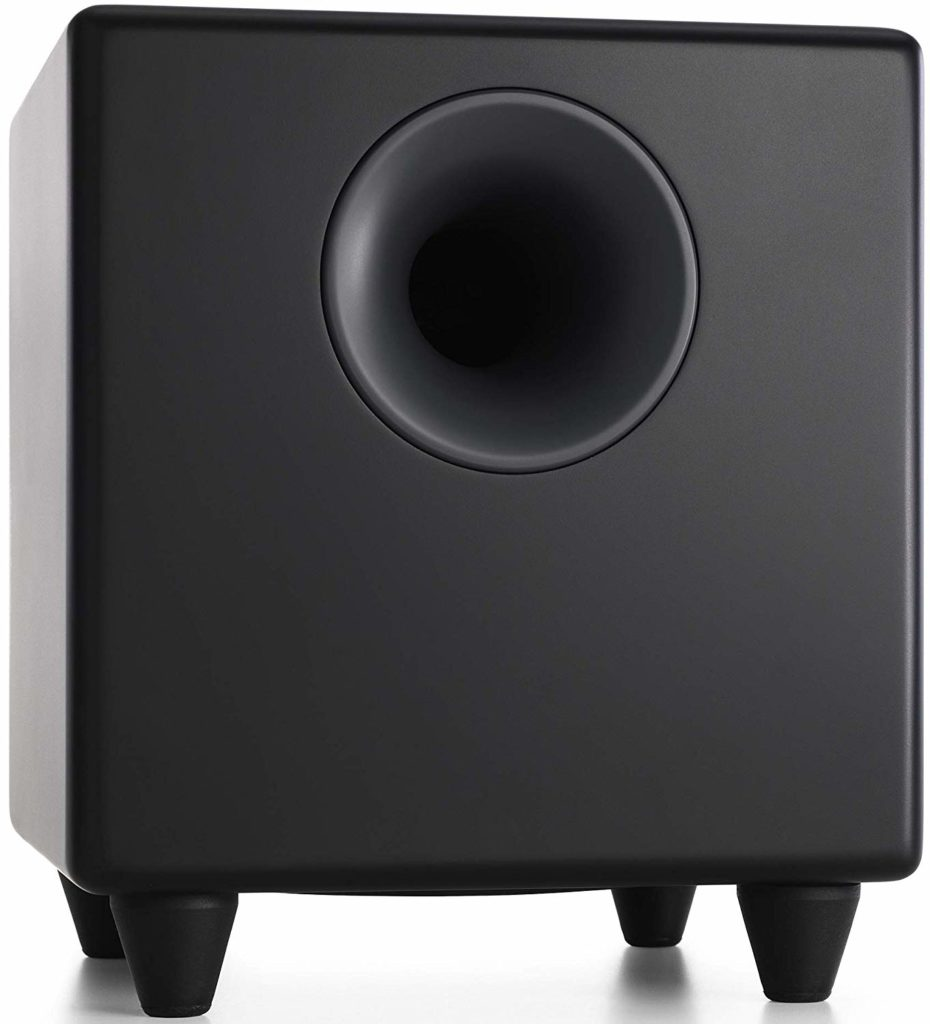 Audioengine S8 Black 8-inch Powered Subwoofers Under $500
