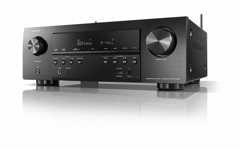 Denon 7.2 Channel 4K Ultra HD Receivers Under $500