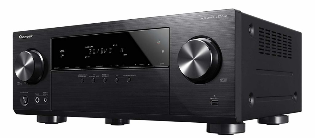 Pioneer Surround Sound A/V Receivers Under $500