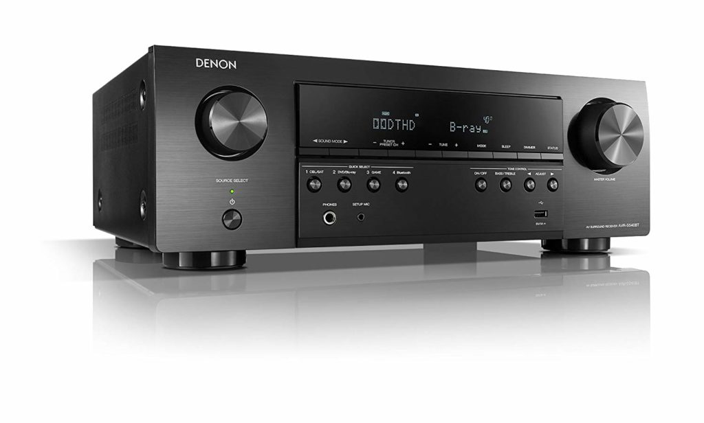 Denon 5.2 channel, 4K Ultra HD Receivers Under $500