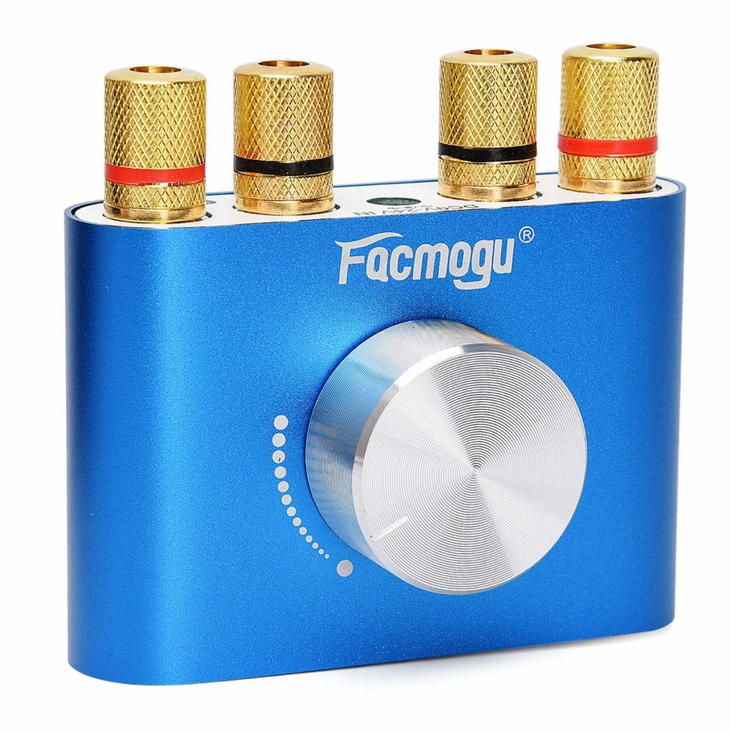 Facmogu F900 Mini Bluetooth Power Amplifier - Budget Speaker Amps (2-channel)