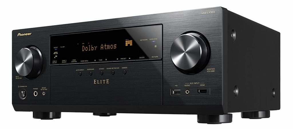 Pioneer 9.2 Channel 4k UltraHD Network A/V Receiver Under $500