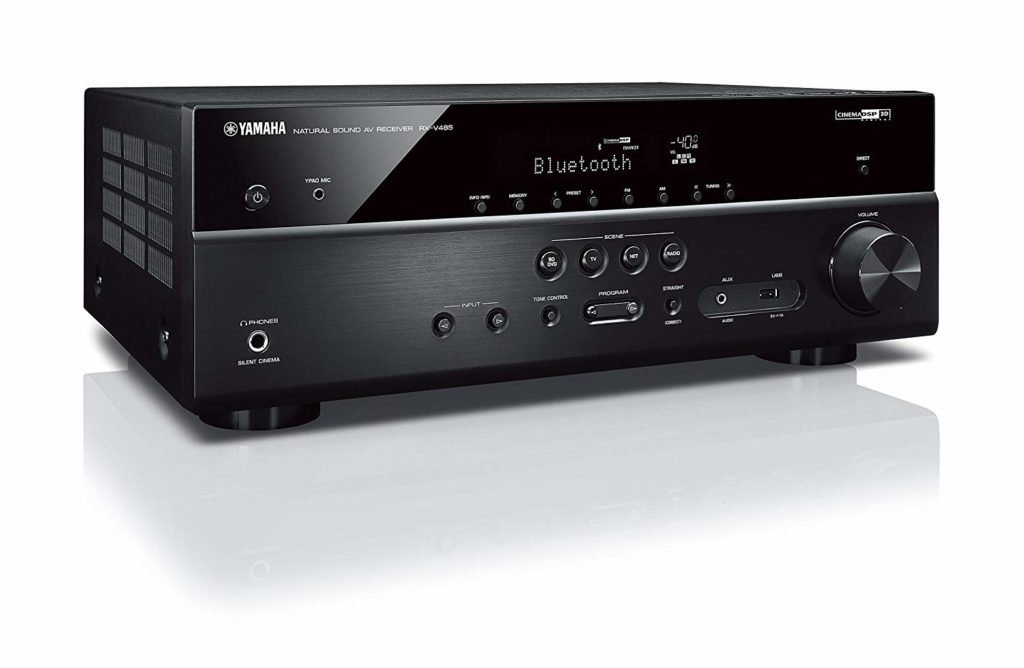 Yamaha 5.1-Channel 4K Ultra HD AV Receivers Under $500