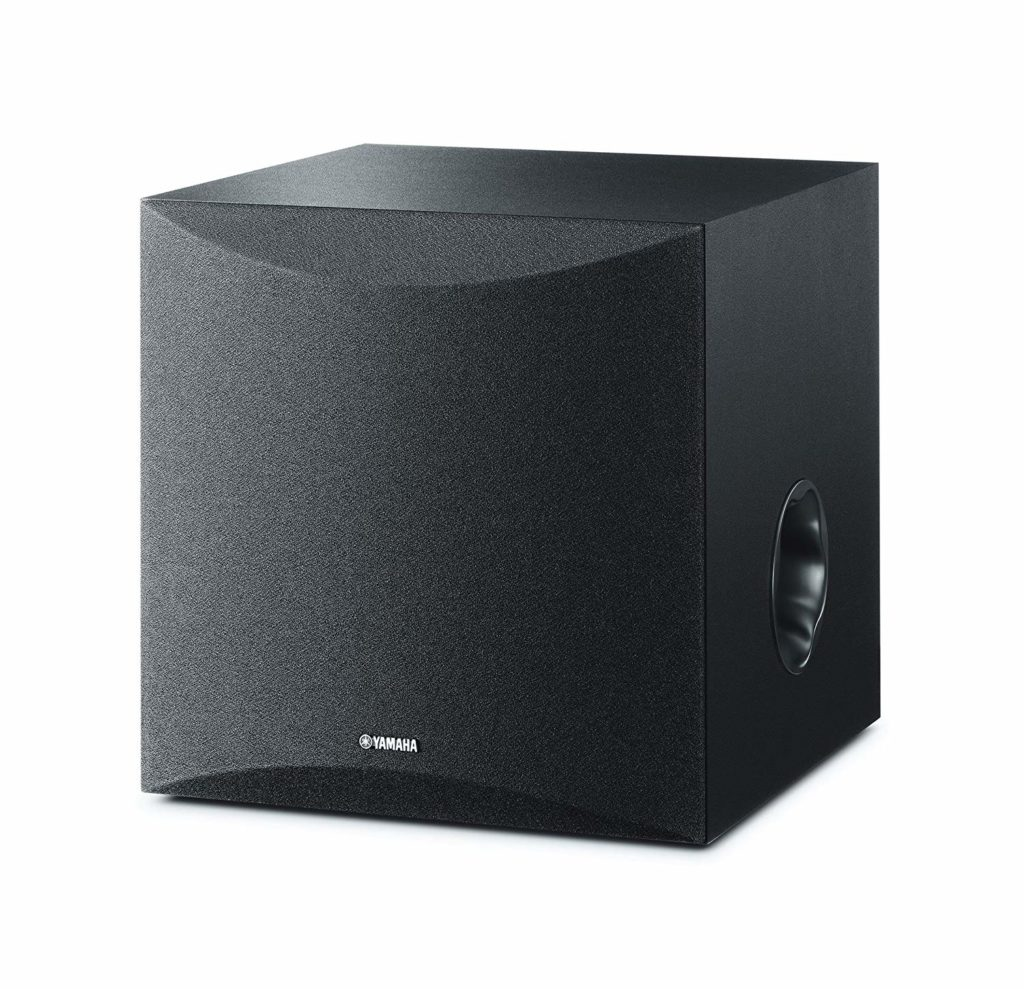"Yamaha 8"" 100W Powered Subwoofers Under $200"