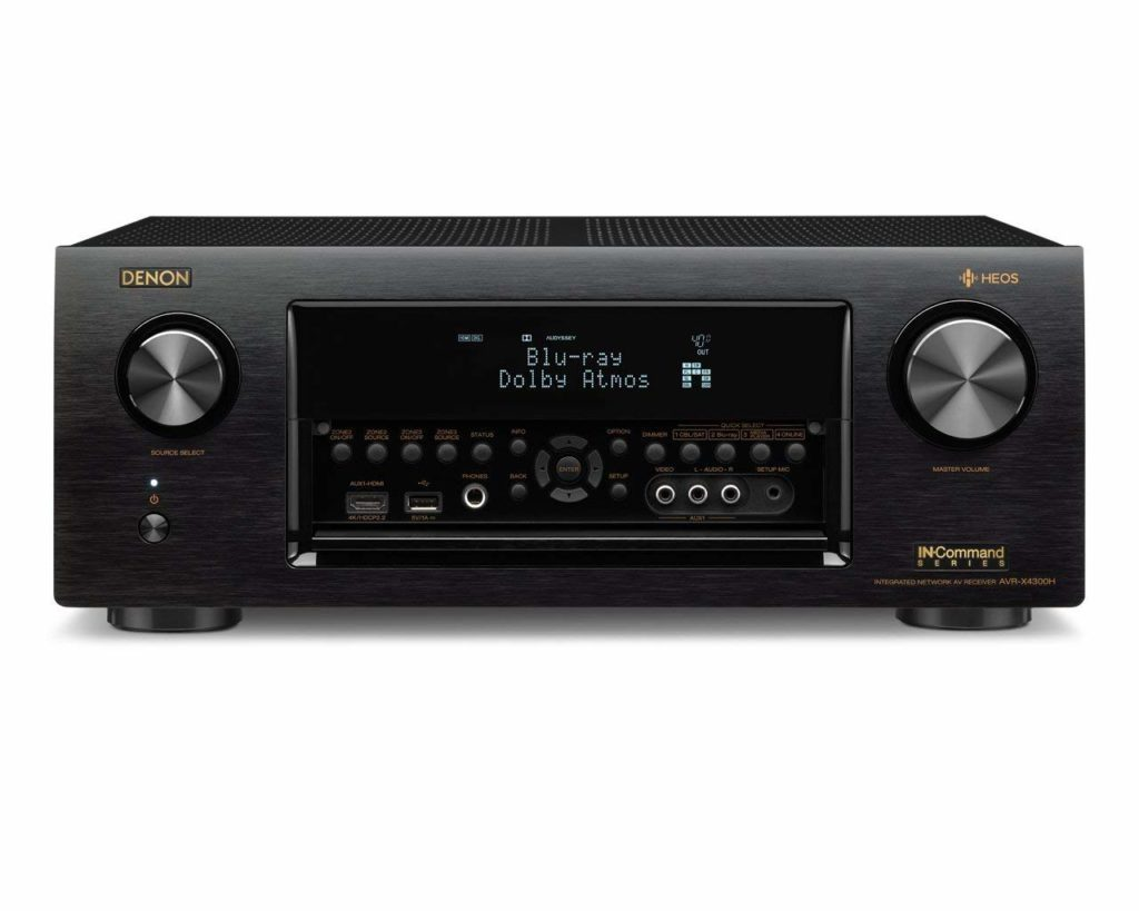 Denon 9.2 Channel Full 4K Ultra HD Home Theater AV Receivers Under $1000