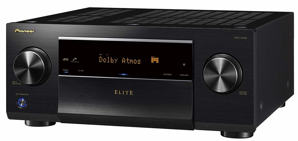 Pioneer 9.2 Channel 4k UltraHD Network Home Theater AV Receivers Under $1000