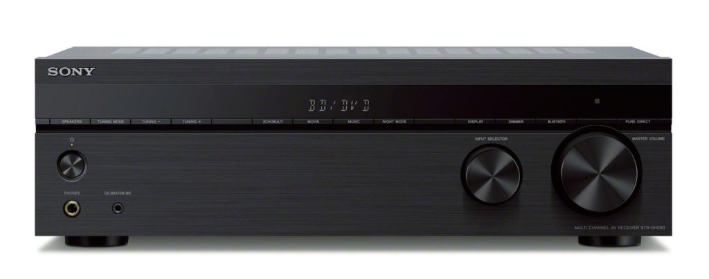 Budget Home Theater Sony STR-DH590 Multi-Channel AV Receiver