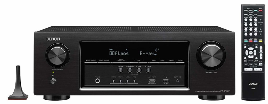 Denon AVR-S720W Best Budget Home Theater AV Receiver