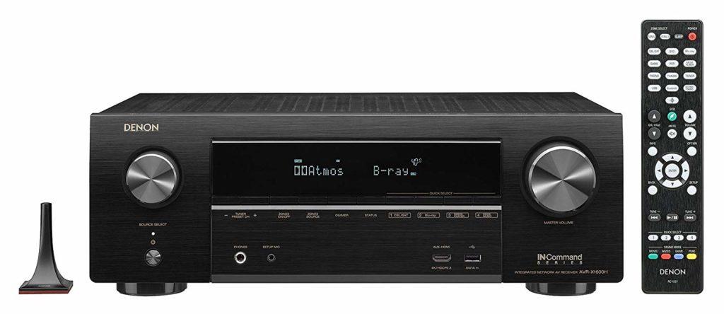Denon AVR-X1600H Best Budget Home AV Receiver