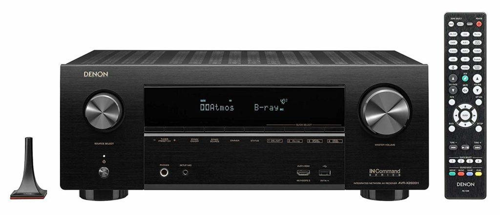 Denon AVR-X2600H Best Budget Home AV Receiver