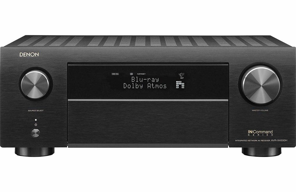 Denon AVR-X4500H - Best Budget Home Theater AV Receiver