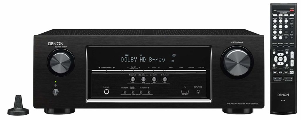 Denon AVR-S500BT Best Budget Home Theater AV Receiver
