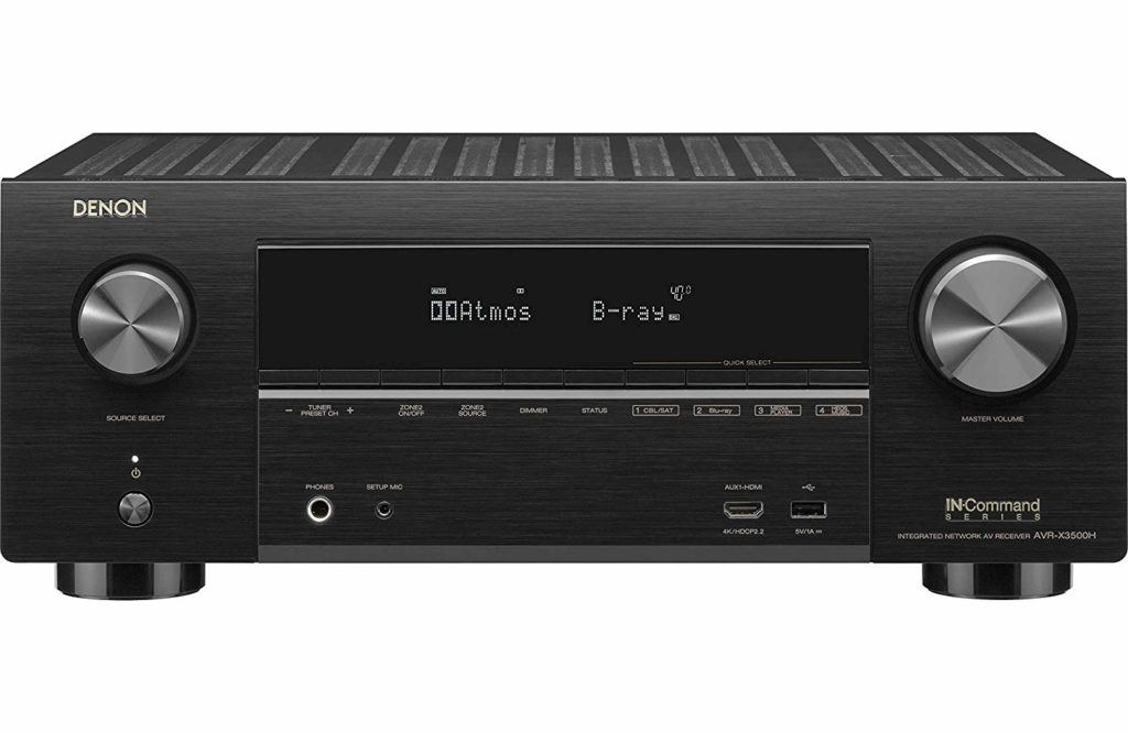 Denon AVR-X3500H Best Budget Home Theater AV Receiver