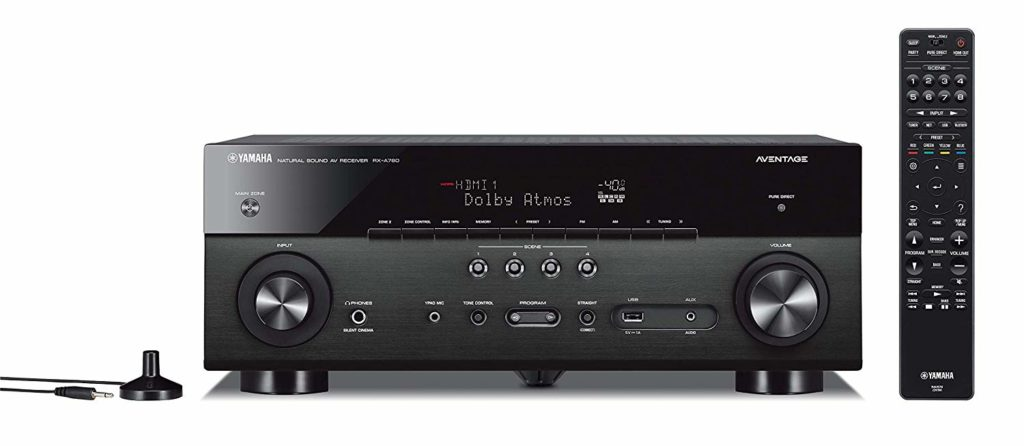 Yamaha RX-A780 AVENTAGE 7.2-Channel Budget Home Theater Best AV Receivers