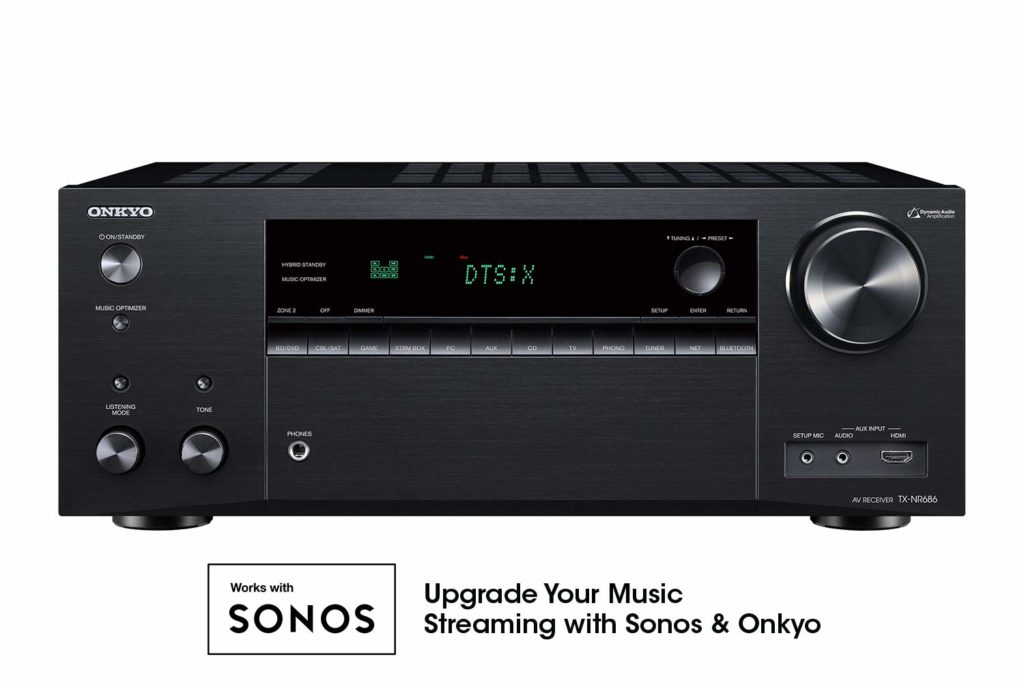 Onkyo TX-NR686 AV Receiver - Budget Home Theater