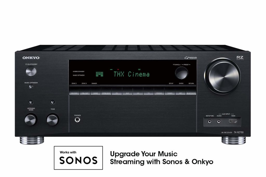 Onkyo TX-RZ730 AV Receiver - Budget Home Theater