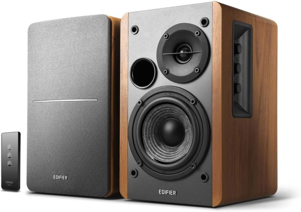 Edifier R1280T Powered Bookshelf Speakers - Gifts for Audiophiles