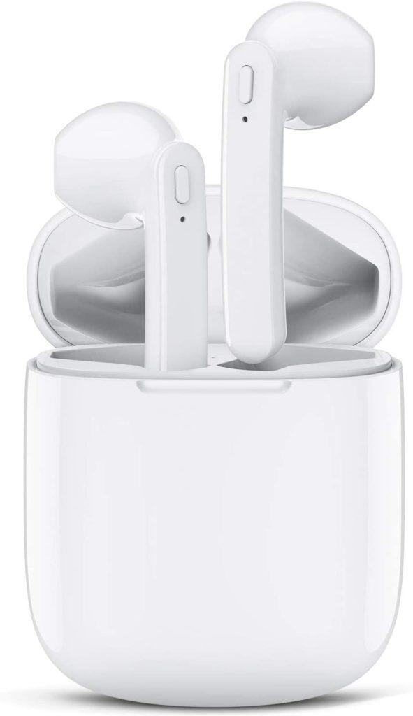 Lasuney Waterproof Bluetooth 5.0 True Wireless Earbuds Under $200