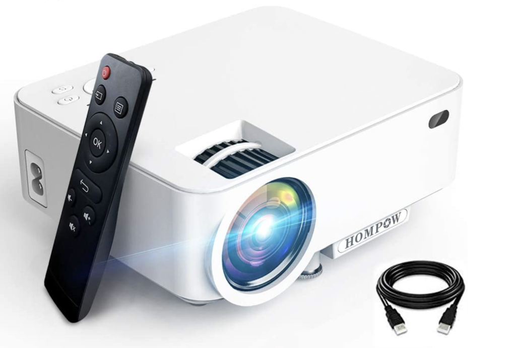 Hompow Smartphone Portable Video Projector