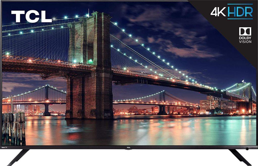10 Best 4K Ultra HD OLED/QLED TVs Under $4,000 - TCL 75R617 75-Inch 4K Ultra HD Roku Smart LED TV
